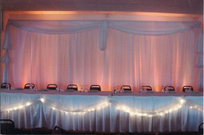 Uplit Fabric Backdrop